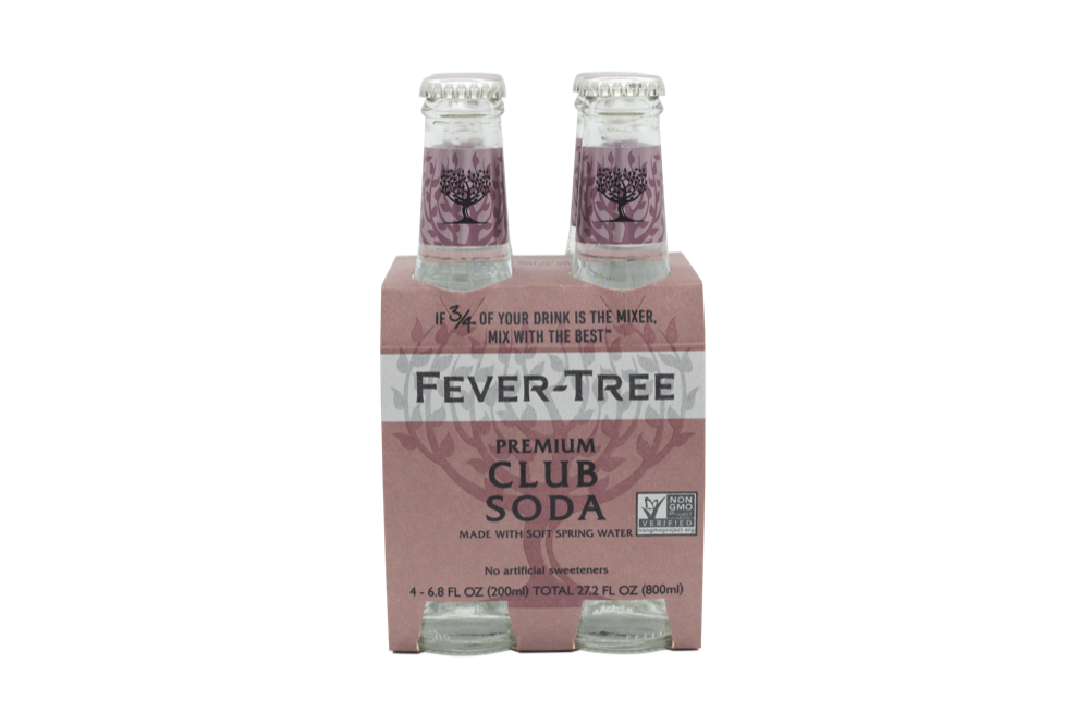 Fever Tree - Club Soda 4pk