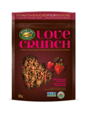 Love Crunch - Dark Chocolate & Macaroon Granola  325g