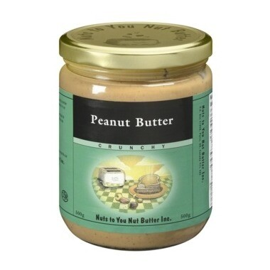 Nuts to You - Natural Peanut Butter Crunchy 500g
