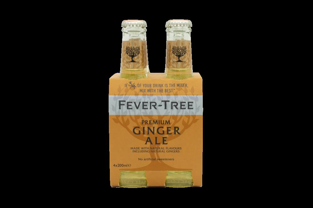 Fever Tree - Ginger Ale 4pk