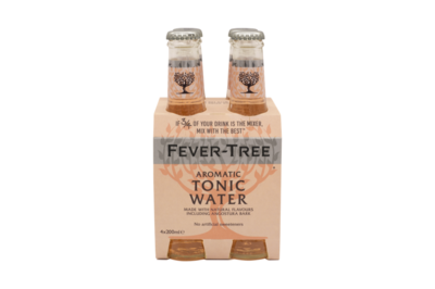 Fever Tree - Aromatic Tonic 4-pack