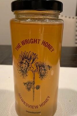 Hawksview Honey - Raw Honey 375ml