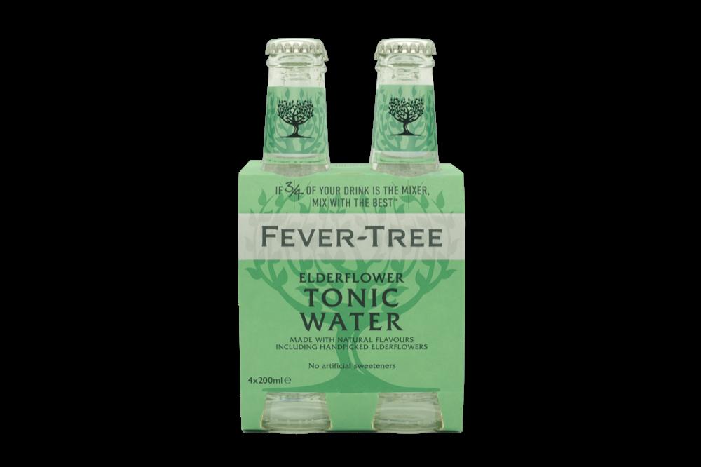 Fever Tree - Elderflower Tonic 4pk