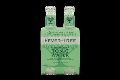 Fever Tree - Elderflower Tonic 4-pack