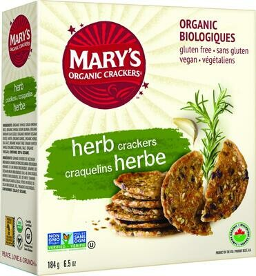 Mary's - Herb Crackers Crackers