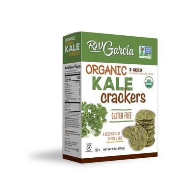 R.W. Garcia - Kale 3 Seed Crackers