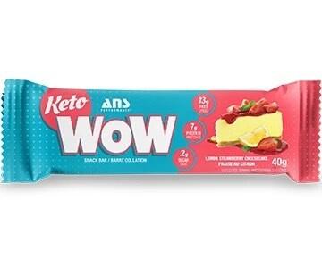 Ans Performance - Keto WOW Lemon Strawberry Cheesecake Bar (40g)