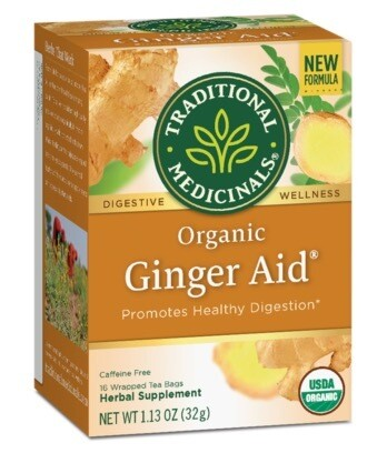 Traditional Medicinals - Org. Ginger Aid