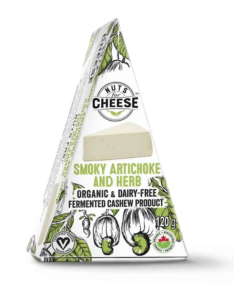 Nuts for Cheese - Smokey Artichoke & Herb