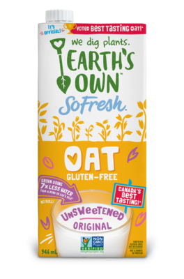 Earth's Own - Oat Milk - Unsweetened Original