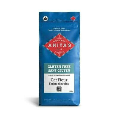 Anita's Organic - Oat Flour (whole grain) 900g