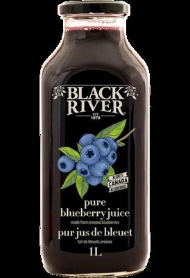 Black River - Pure Blueberry Juice 1L