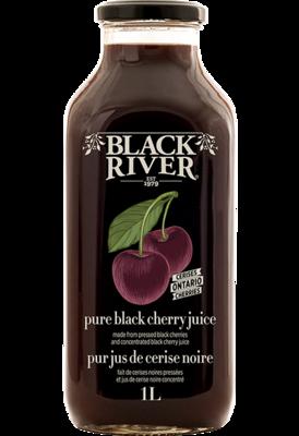 Black River- Pure Black Cherry Juice 1L