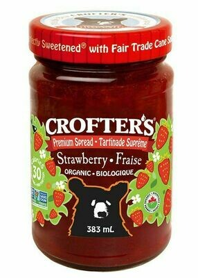 Crofter's - Strawberry Jam 383ml