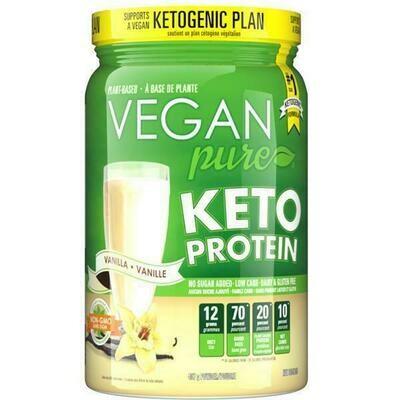 VEGAN pure - KETO Protein - VANILLA (407g)