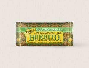 Amy's Burrito Black Bean & Quinoa