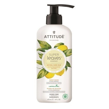 Attitude - Hand Soap Lemon Leaves  473ml