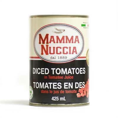 Mamma Nuccia - Diced Tomatoes  (425ml)
