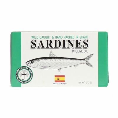 Sardines in Olive Oil 120g