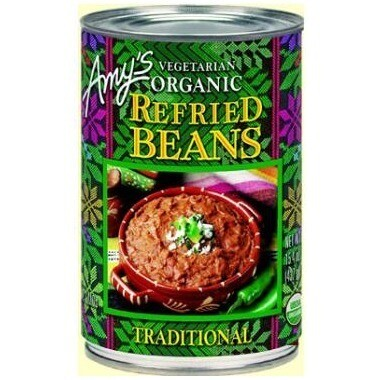 Amy's Org. Refried Beans  398ml
