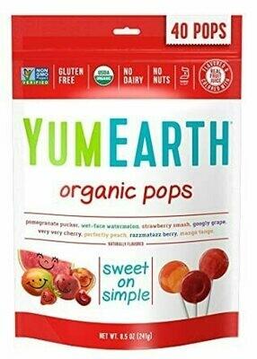 YumEarth - 40 Organic Fruit Pops