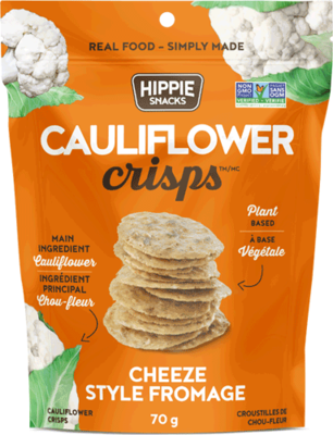 Hippie Foods - Cauliflower Crisp - Cheeze Style