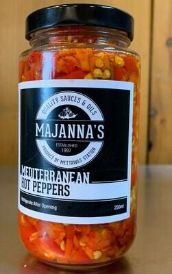 Majanna's - Mediterranean Hot Peppers