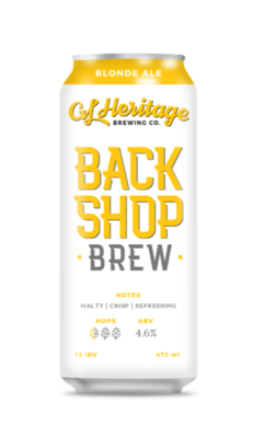 GL Heritage - Back Shop Brew Golden Ale