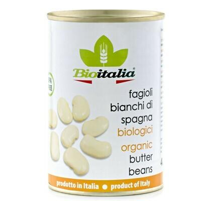 Bioitalia - Organic Butter Beans  398ml