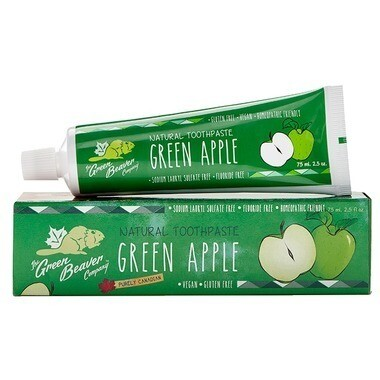 The Green Beaver - Green Apple Toothpaste 75ml