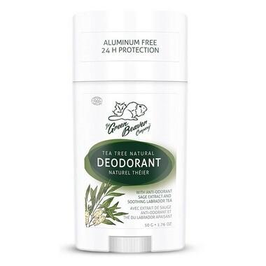 The Green Beaver - Tea Tree Deodorant