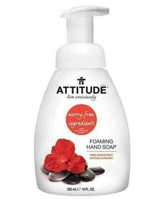 Attitude - Pink Grapefruit Foaming Hand Soap (295ml)