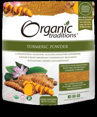 Organic Traditions - Turmeric Powder (200g)