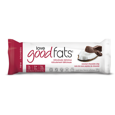 Love Good Fats - Coconut chocolate chip 4-pack