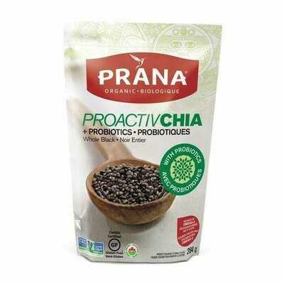 Prana - ProactivChia Whole Black Chia Seeds