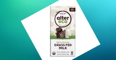 Alter Eco - Grass Fed Milk Chocolate Bar 75g