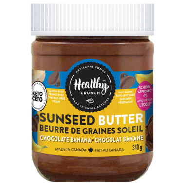 Healthy Crunch - Chocolate Banana  Seed Butter  340g