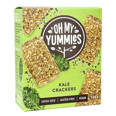 Oh My Yummies - Kale Crackers