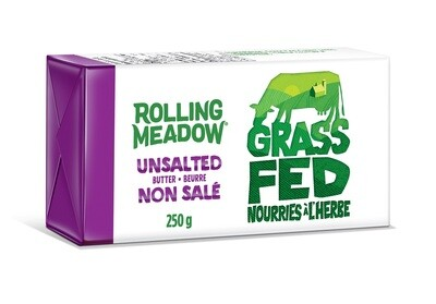 Rolling Meadow - Grass Feed UnSalted Butter 250g
