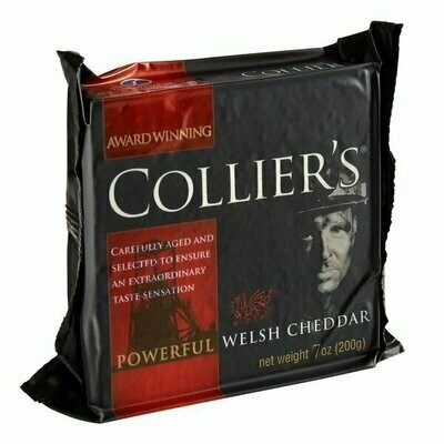 Cheese - Collier's Welsh Cheddar