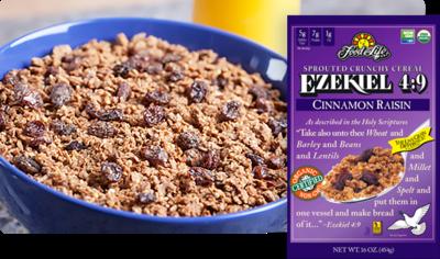 Food For Life - Ezekiel 4:9 Cereal Cinnamon Rasin