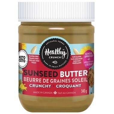 Healthy Crunch - Crunchy Seed Butter  340g