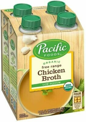 Org. Chicken Broth 4pk.