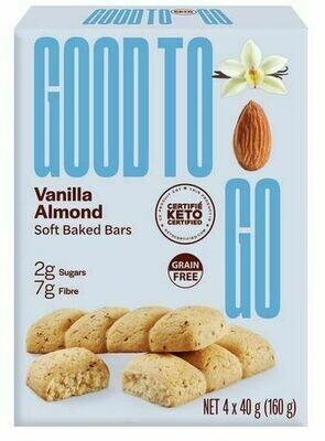 Good to Go - Vanilla Almond 4-pack