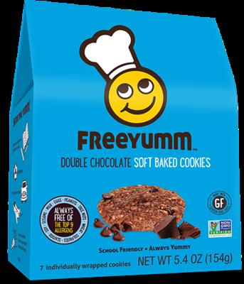 Freeyum - Double Chocolate Cookies