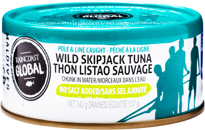 Raincoast - Tuna No Salt Added