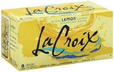 LaCroix - Lemon Sparkling Water