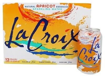 LaCroix - Apricot Sparkling Water