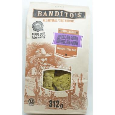 Bandito's  - Kale, Chia & Quinoa Chips