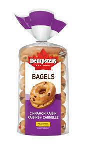 Dempsters - Cinnamon Raisin Bagels (6)